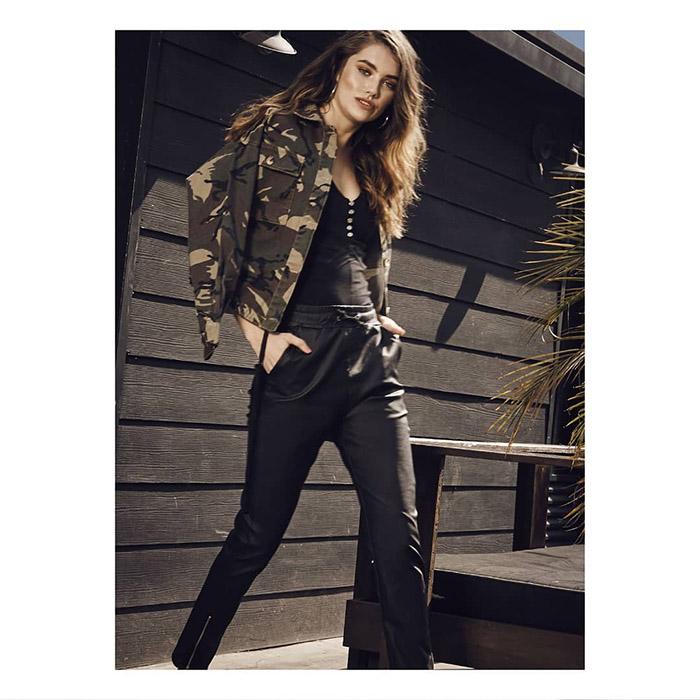 Moda 2020 chaquetas y abrigos army mujer 2020.