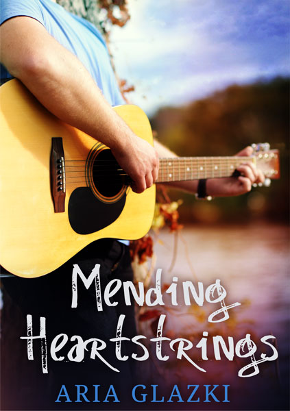 Book cover of Mending Heartstrings by Aria Glazki