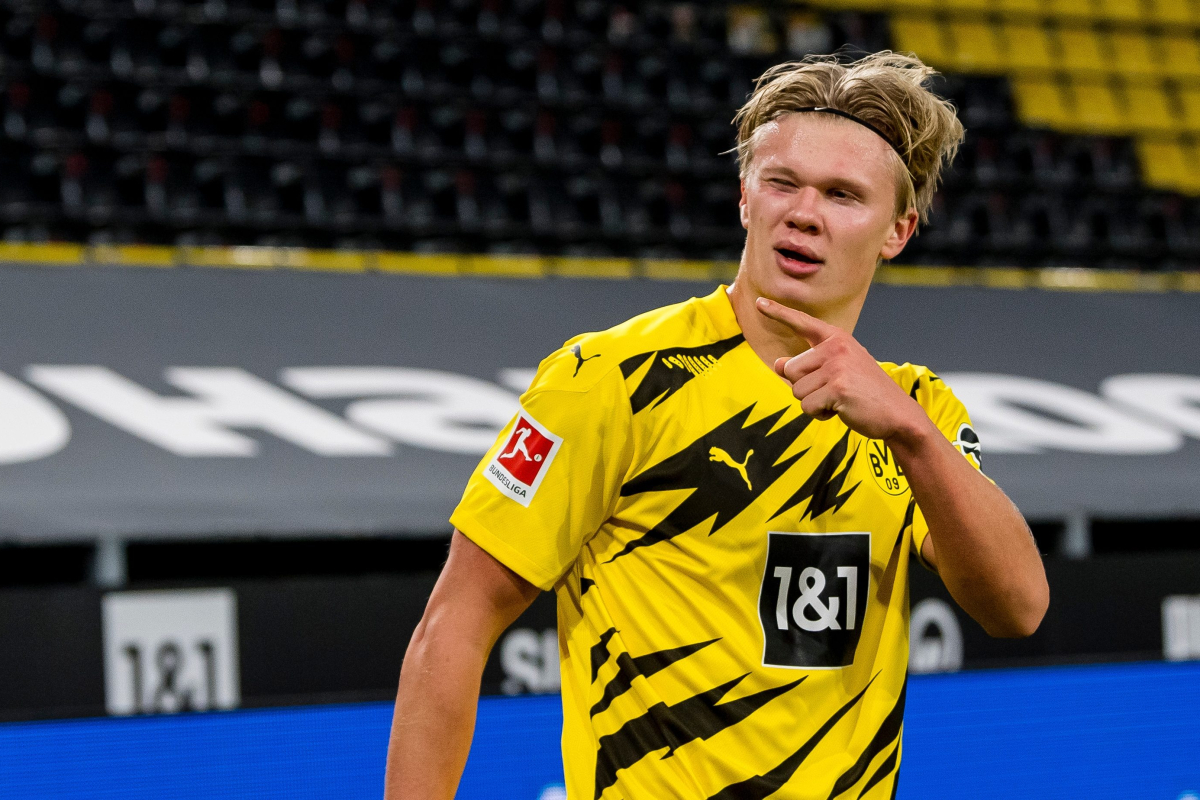 Norwegian sensation Erling Haaland