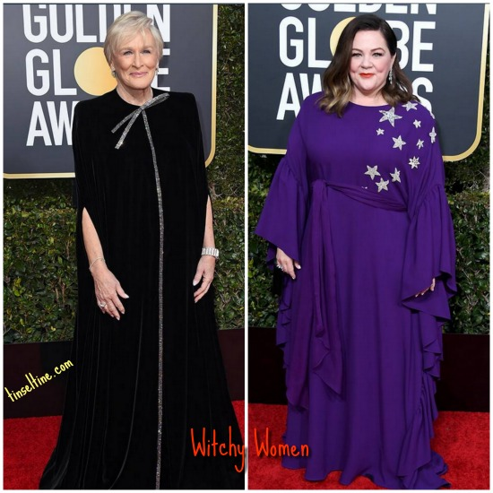 Glenn Close and Melissa McCarthy both went magical on the red carpet