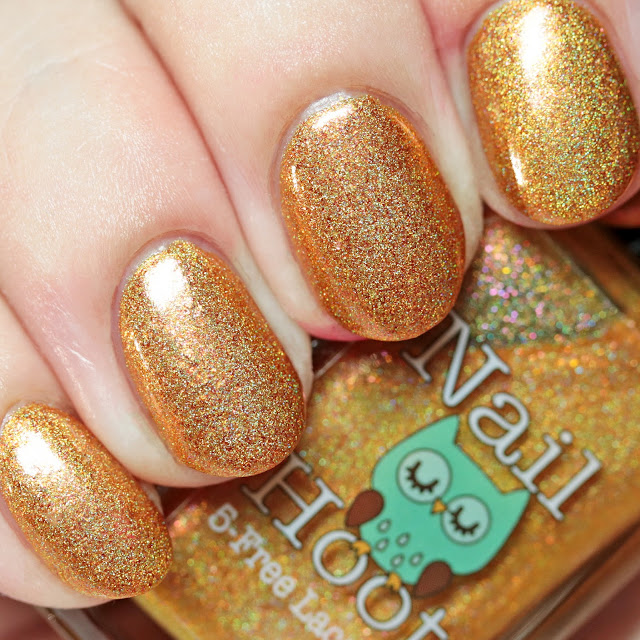 Nail Hoot Indie Lacquer You Shall Not Pass