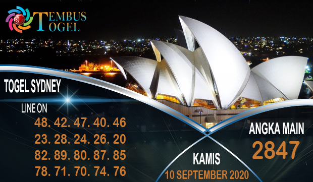 Nomor Bagus Togel Sidney Kamis 10 September 2020