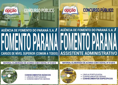apostila-fomento-parana-2018-cargo-nivel-medio