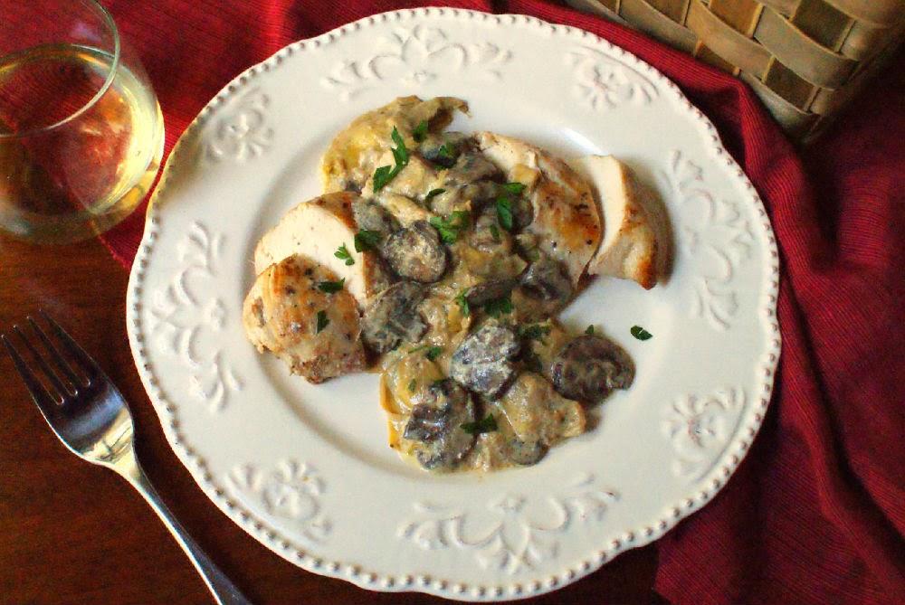 Mushroom Artichoke Chicken