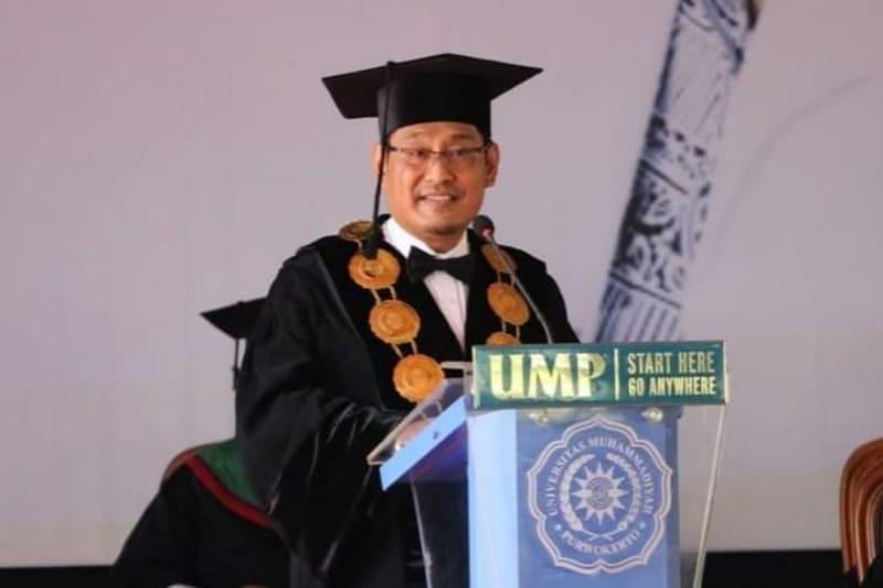 Innalillahi, Rektor UMP Dr. Anjar Nugroho Tutup Usia