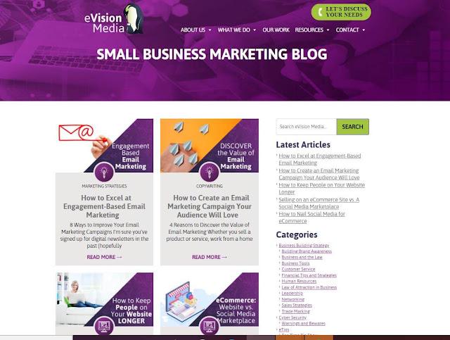 Blog Anda akan mengarahkan trafik ke situs web Anda