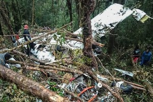 Indonesia Plane Crash Left 12 Travelers Dead, 12 Years Old Boy Only Survived