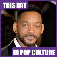 Will Smith was born on September 25, 1968.