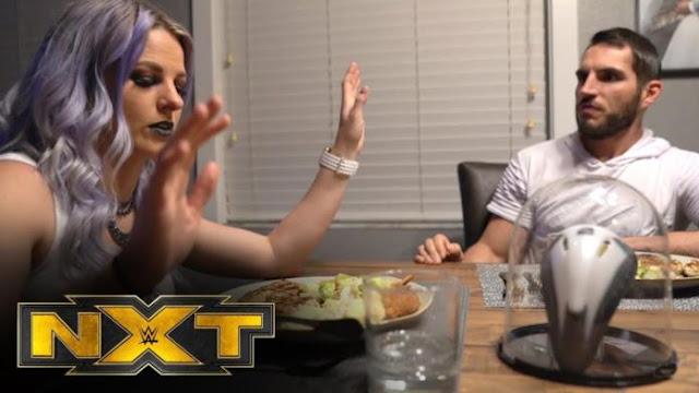 Candice LeRae aparece com novo visual no WWE NXT