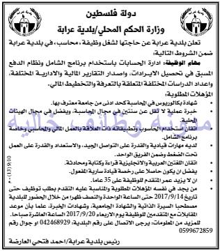 وظائف شاغرة فى جريدة القدس فلسطين الاثنين 11-09-2017 %25D8%25A7%25D9%2584%25D9%2582%25D8%25AF%25D8%25B3%2B3