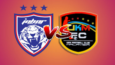 Live Streaming JDT II vs UKM FC Final Challenge Cup 4.10.2019