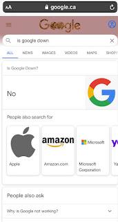L'Oeuf de Pâques de Google Is Google Down