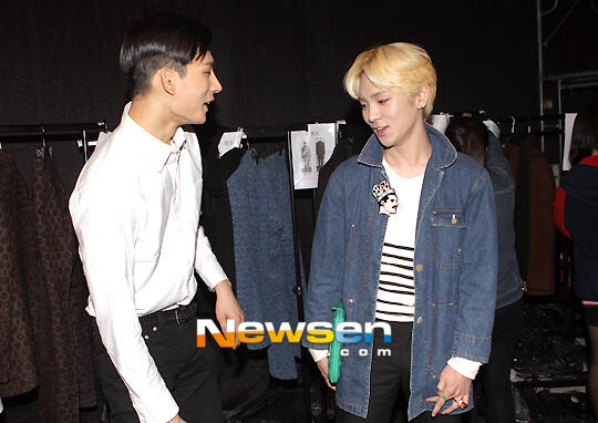 shinee key dating male model