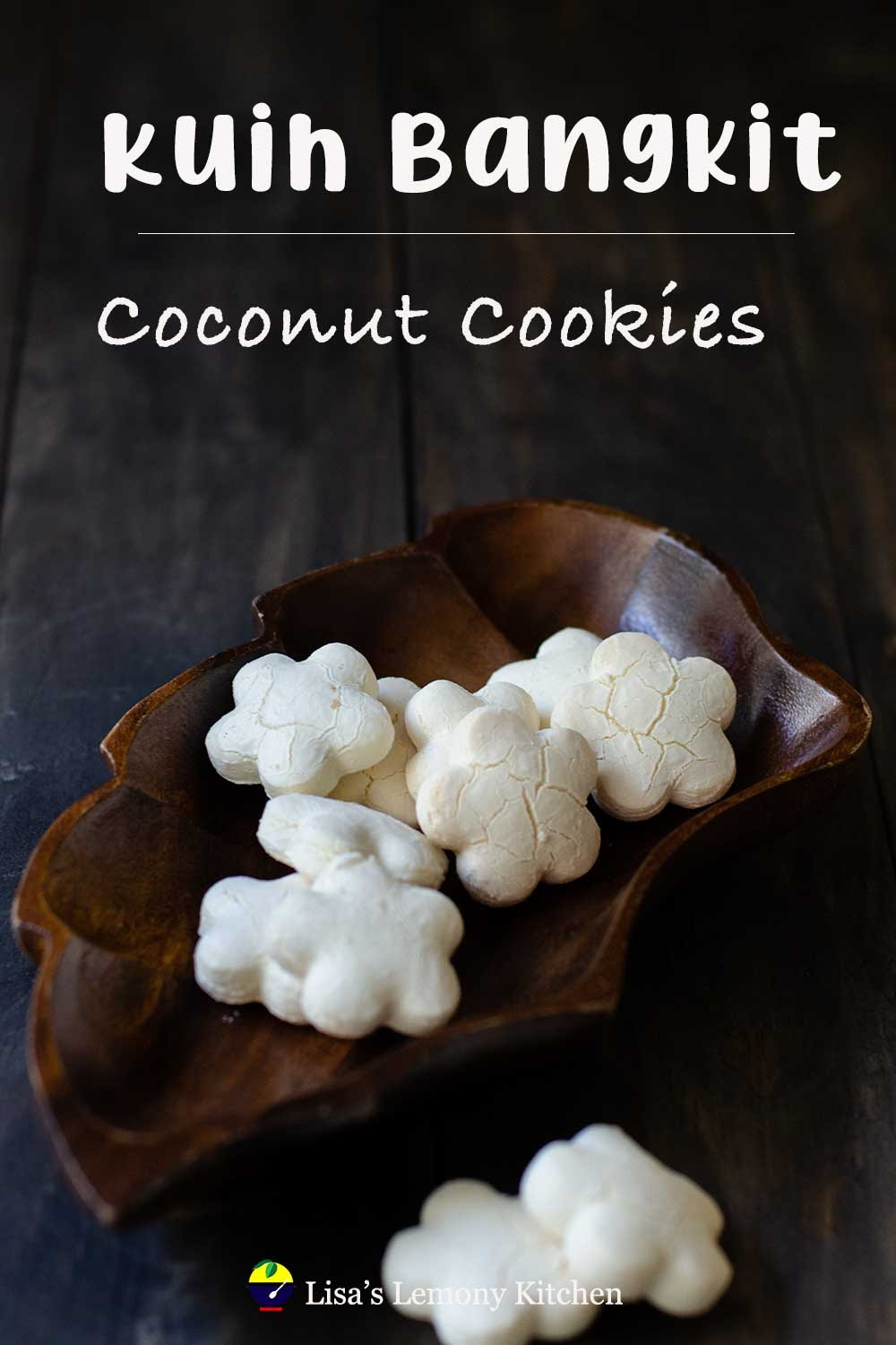 Baking Kuih Bangkit or Tapioca Cookies   It is Malaysian traditional gluten free cookies that melt in the mouth.