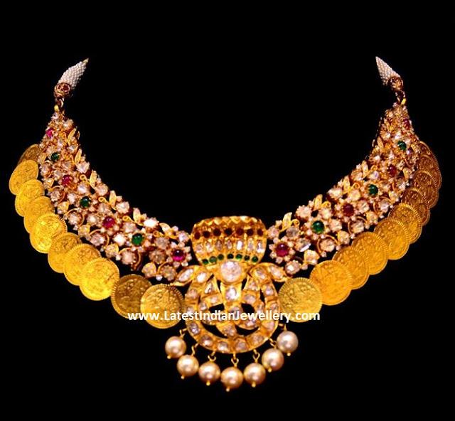 Laxmi Coin Necklace