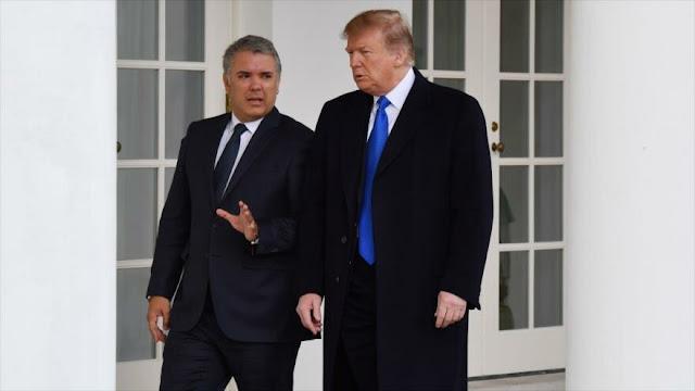 EEUU y Colombia apoyan el intento golpista de oposición venezolana