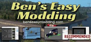 ben's easy modding program for ets 2 & ats v1.3