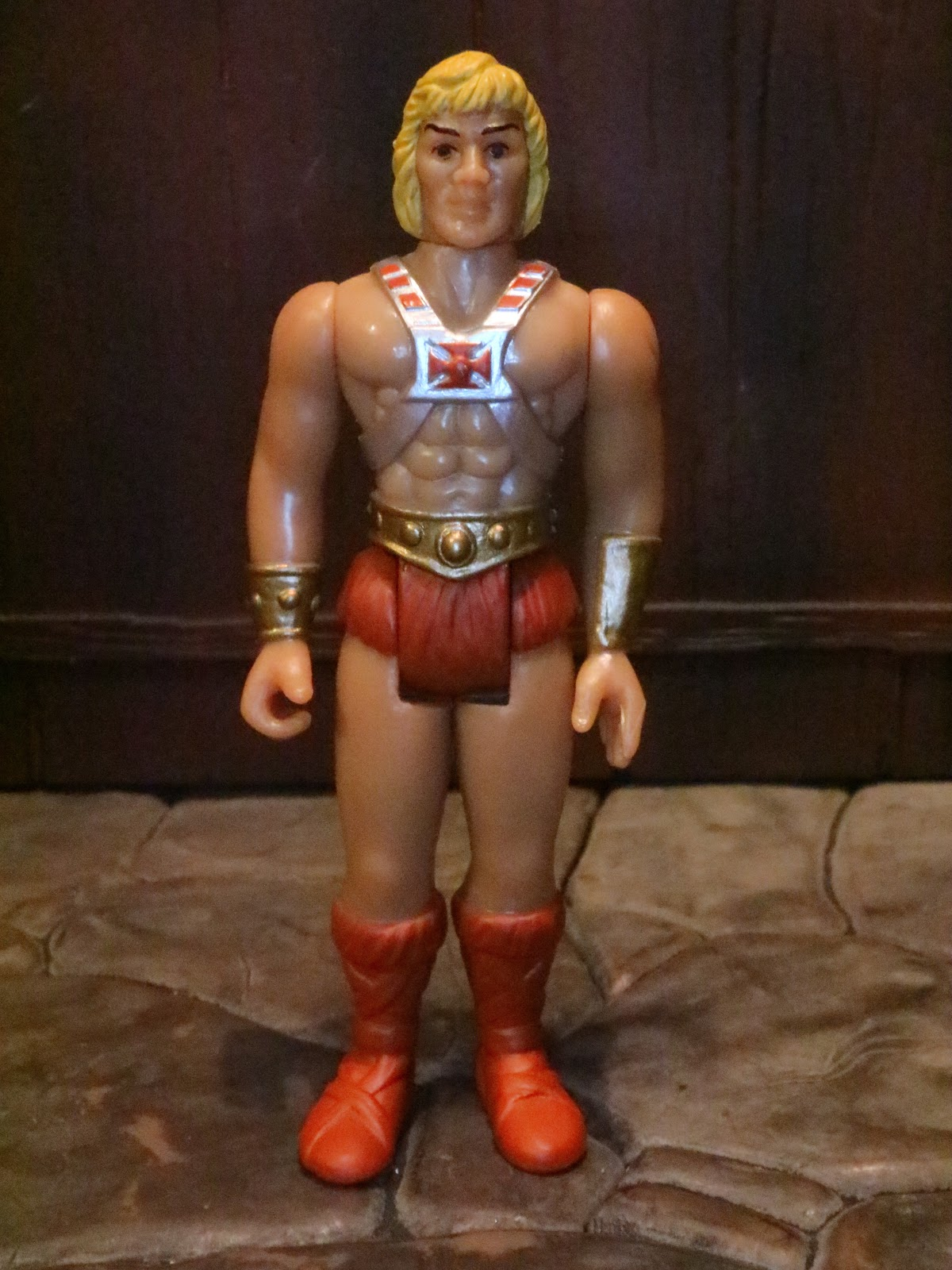 Super 7 Reaction Masters of the Universe He-Man /& Battle Cat figurine