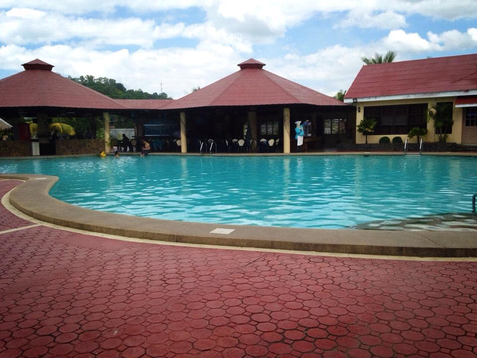 The swimming pool at Subic Waterfront Resort & Hotel