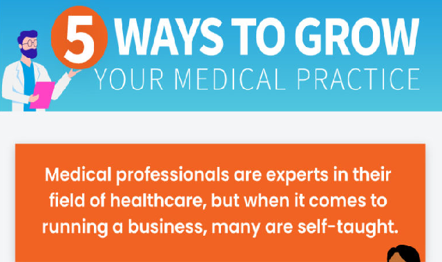 5 Ways to Grow Your Medical Practice #infographic