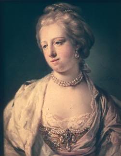 Portrait of Caroline Mathilde by Francis Cotes