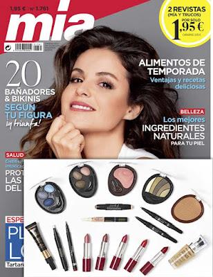 Suscripción Revista Mia agosto 2020 noticias moda y belleza mujer