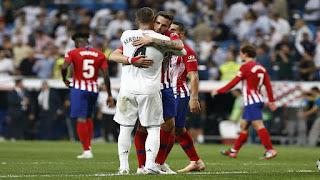 تجديد اختبار ريال مدريد في ديربي الأتليتيكو
