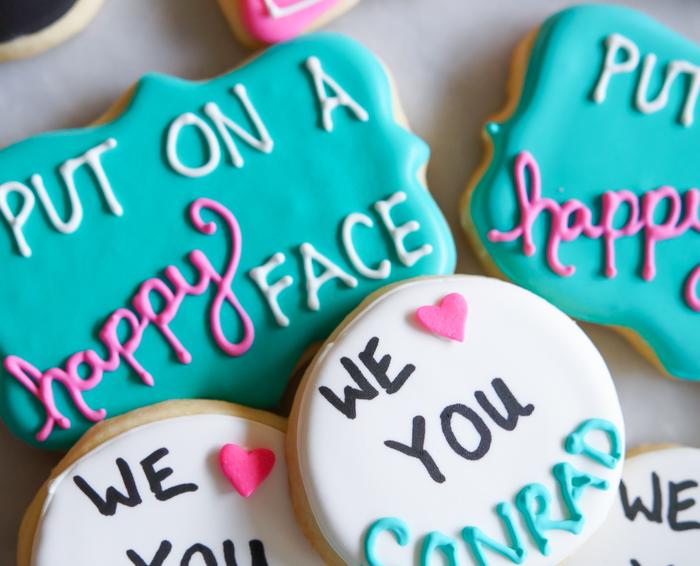 bye bye birdie , we love you conrad cookies