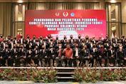 Lantik Ketua KONI Sulut, Norman Berharap Sulut Jadi Pusat Pembinaan Atlit Prestasi Dunia