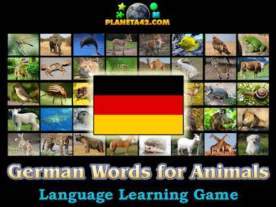 Немски Думи за Животни Игра