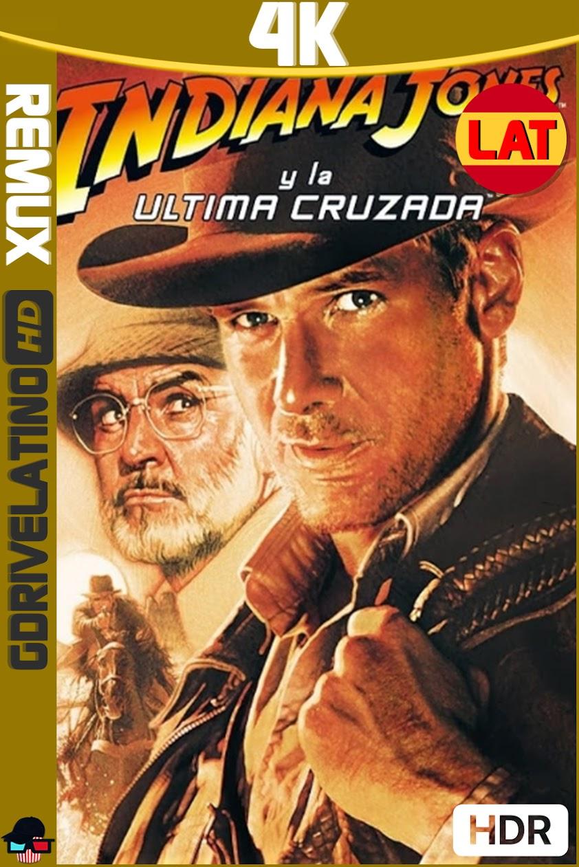 Indiana Jones y la Última Cruzada (1989) BDRemux 4K HDR Latino-Ingles MKV