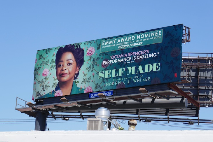 Octavia Spencer Self Made Emmy nominee billboard