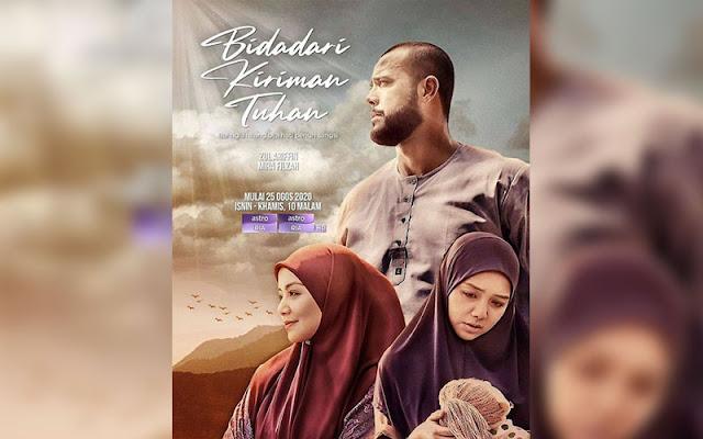 Saksikan Gandingan Mira Filzah Dan Zul Ariffin Dalam Drama Bidadari Kiriman Tuhan Di Astro RIA Dan Secara Online
