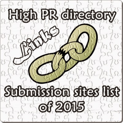 Top High PR directory Submission sites list of 2015
