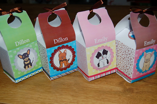 Puppy Paw-ty Treat Boxes