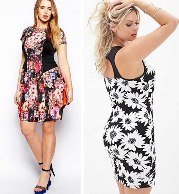 flores vestidos