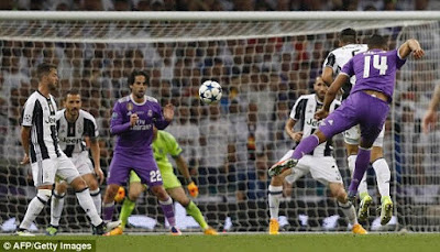 5 - Real Madrid wins the UEFA Champions League 2017