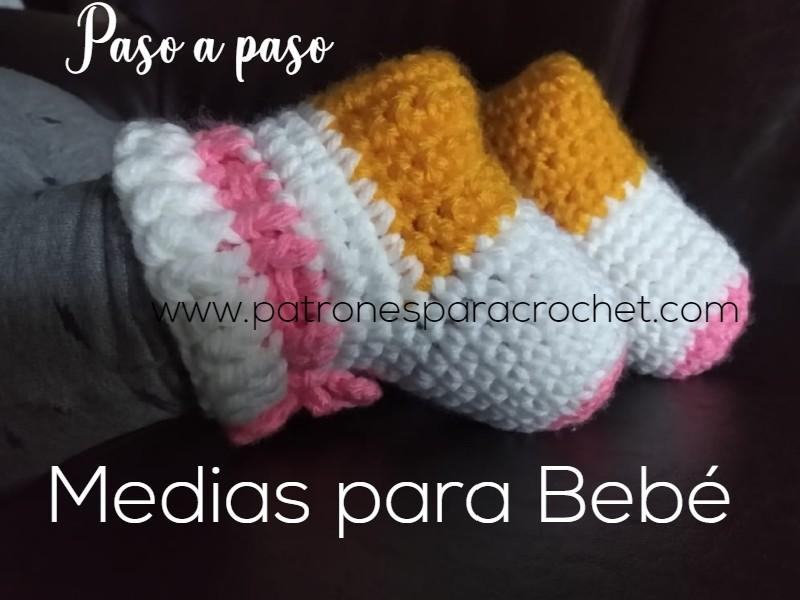Cómo Tejer Medias Para Bebés Paso A Paso