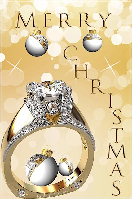 Greg Neeley Jewelry Christmas Edit Italian Top Ladies Diamond 18k Ring #brilliantluxury