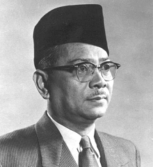 Perdana Menteri Pertama Tunku Abdul Rahman Putra Al-Haj