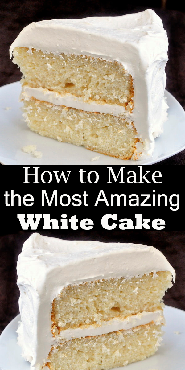 Moist White Cake #Moist #White #Cake #dassart #MoistWhiteCake