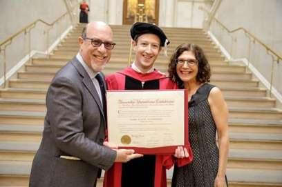 Mark Zuckerberg Facebook CEO Graduates From College [Photos]