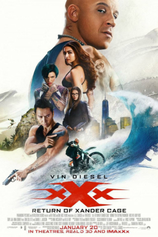 xXx: Return of Xander Cage [2017] [DVDR] [NTSC] [Custom HD] [Latino] [V2]