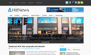 HitNews Blogger Template
