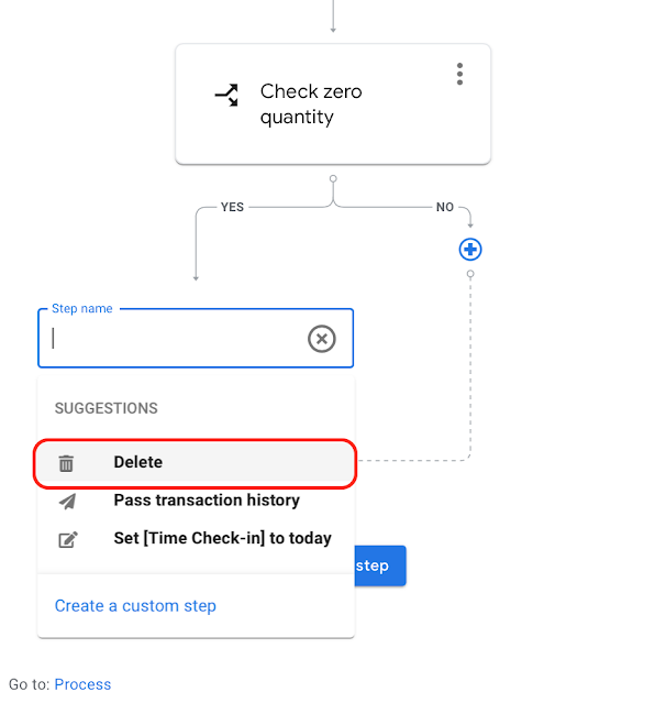 AppSheetで在庫管理、オートメーションで条件分岐後のタスクを設定する