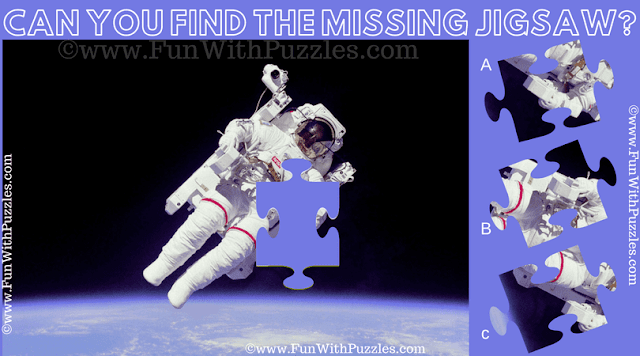 It is Nasa Jigsaw Puzzle in which one has to fine the missing Jigsaw piece