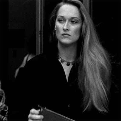Meryl Streep dans Manhattan