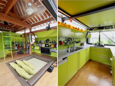 Korean Traditional Living Room Design Ideas