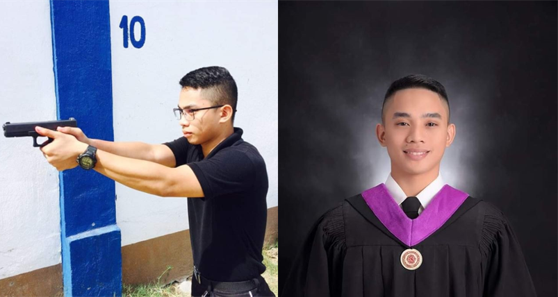 Son of buko and vegetable vendors, ranks second in Criminology board exam