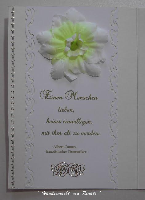 Handgemacht Von Renate Hochzeitskarten Sind Sehr Gefragt